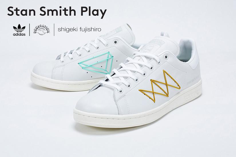 on sale 20e78 d1712 adidas consortium x shigeki fujishiro stan smith play