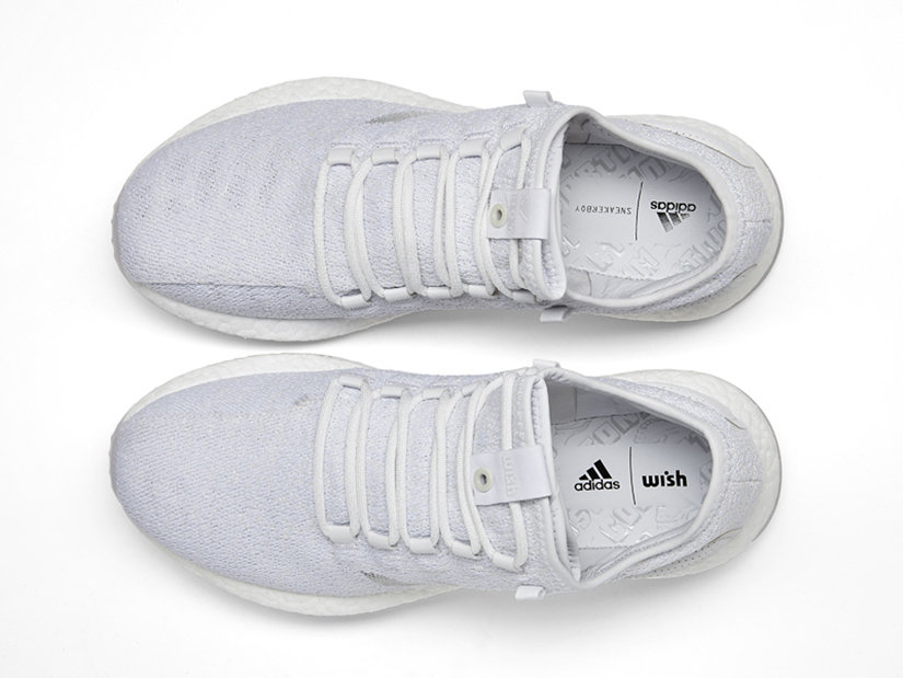 5038b0099c3ea Adidas PureBOOST x Sneakerboy x Wish S80981 WHITE WHITE WHITE Launch   Saturday 20th May at limitEDitions