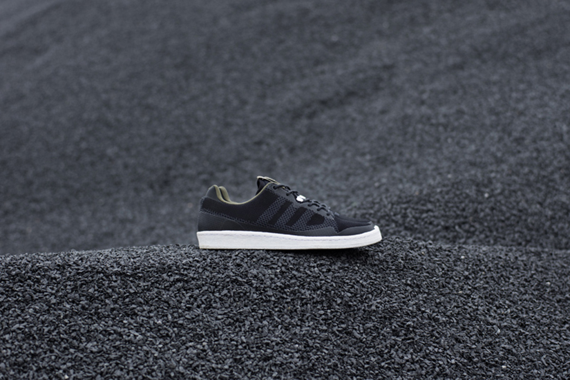 sports shoes aee8b 7ed60 The Campus 80s is styled on darker asphalt, often found nearer to the  surface of the rock formations. Also comprised of a series of layers, the  grey accents ...