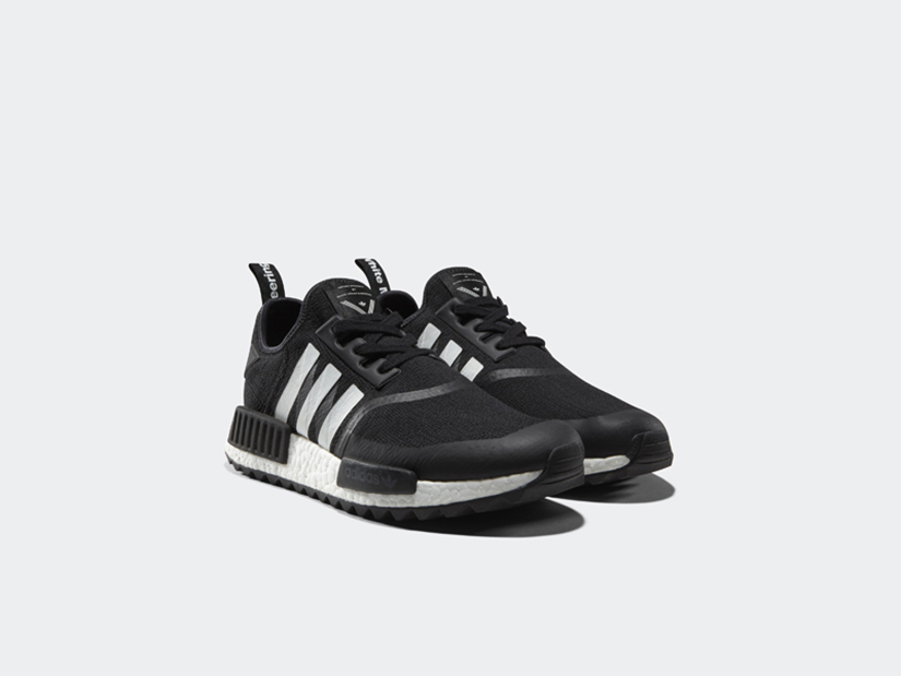 competitive price 73e0b 8ee99 Adidas NMD Trail Primeknit x White Mountaineering BA7518 CORE BLACK FTWR  WHITE FTWR WHITE