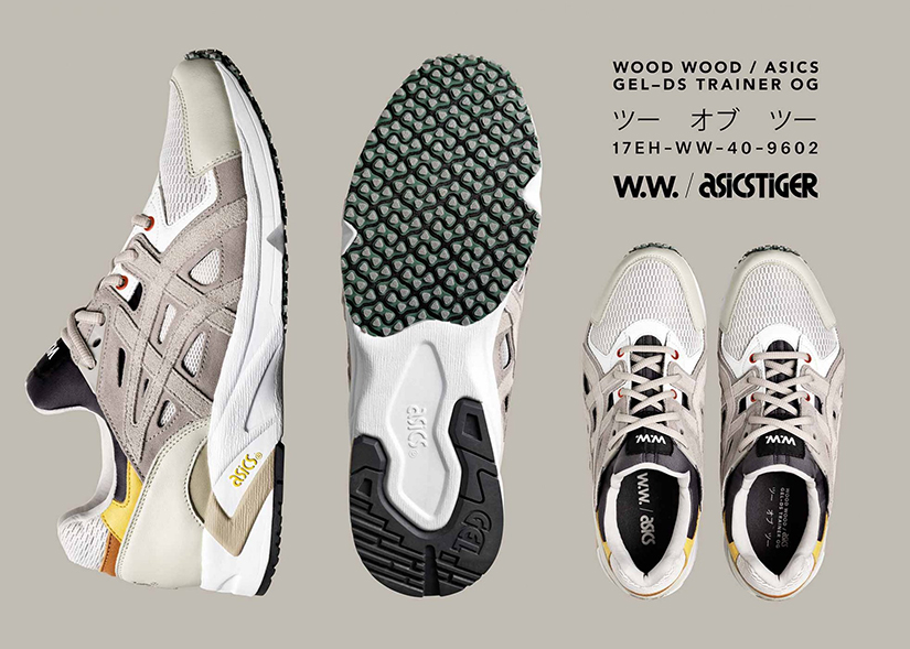 timeless design dfe84 0fe3d After already celebrating their 15th anniversary with a metallic edition of  the ASICS GEL–DS Trainer OG, Danish sneaker connoisseurs Wood Wood are  doubling ...