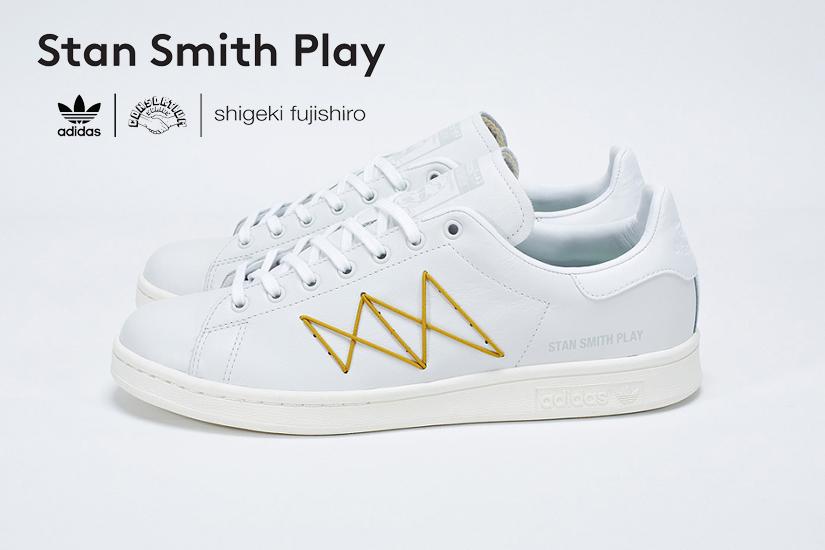 adidas consortium stan smith play