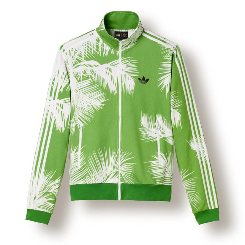 77a448226887e Adidas Palm Tracktop x BBC x Pharrell Williams BR0690 - Vivid Green  White   Black