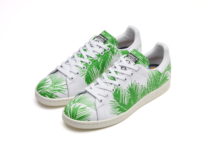 caf1c0cf5 Adidas Stan Smith Palm Tree x BBC x Pharrell Williams S82071 - FTWR WHITE    FTWR WHITE   CORE BLACK