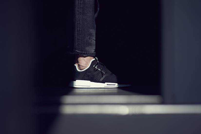 356bbf140 adidas Consortium NMD R1 – Invincible x Neighborhood CQ1775  CBLACK CBLACK CBLACK