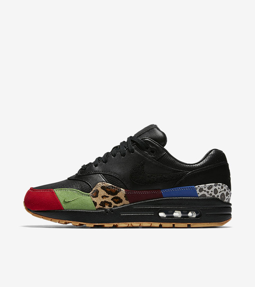 245dfd953 Nike Air Max 1 Master 910772-001. BLACK BLACK-UNIVERSITY RED-INTL BLUE