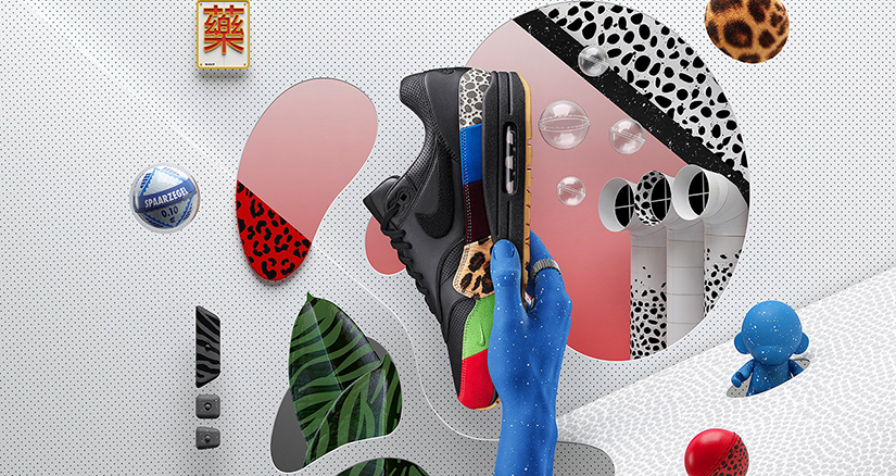 Nike Air Max 1 Mid iD Imagined in Iconic