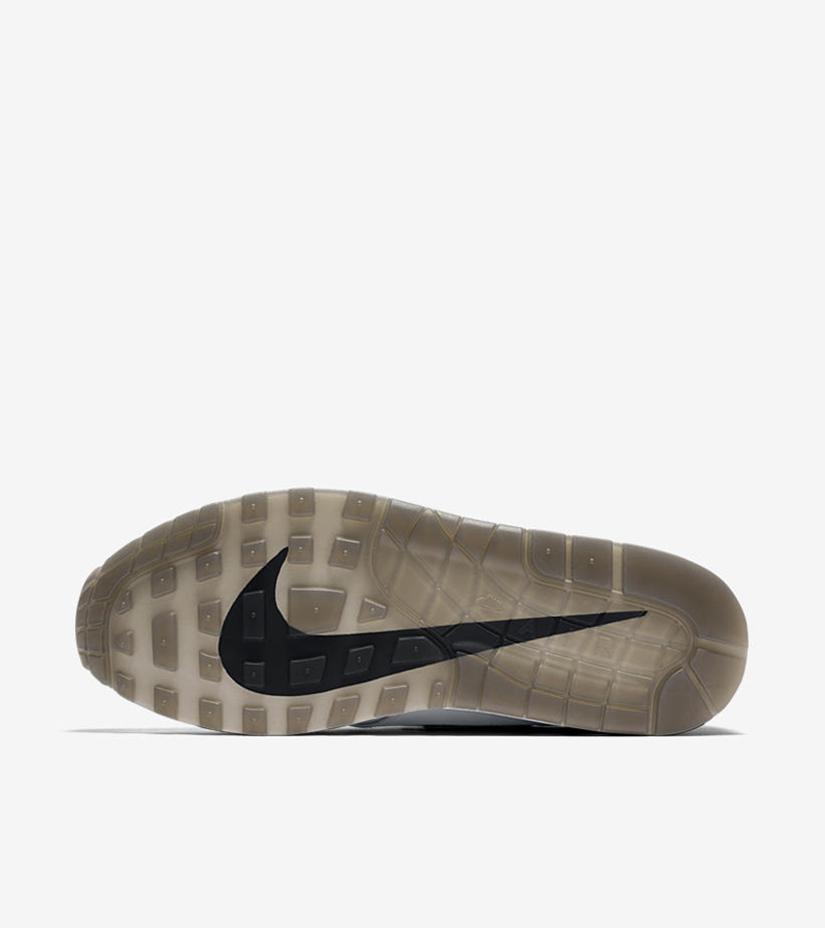 "afb2e6f144 Nike Air Max 1 Premium Jewel ""Black Diamond"" 918354-103. WHITE/BLACK"