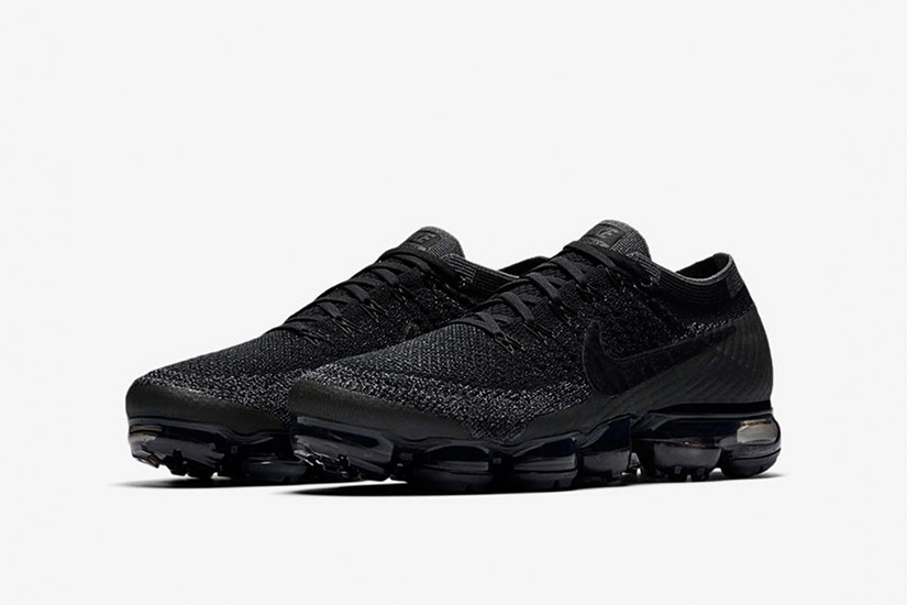 save off f3258 043f9 Nike Air Vapormax Flyknit 849558-007. Black Anthracite-Dark Grey