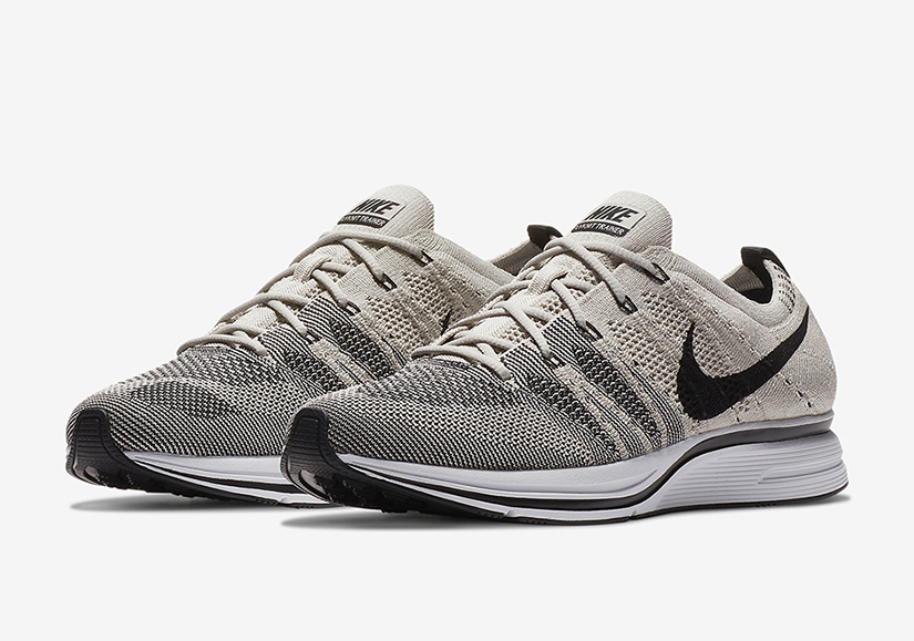 "1527d23a6391 Nike Flyknit Trainer ""Pale Grey"" AH8396-001. Pale Grey Black-White"