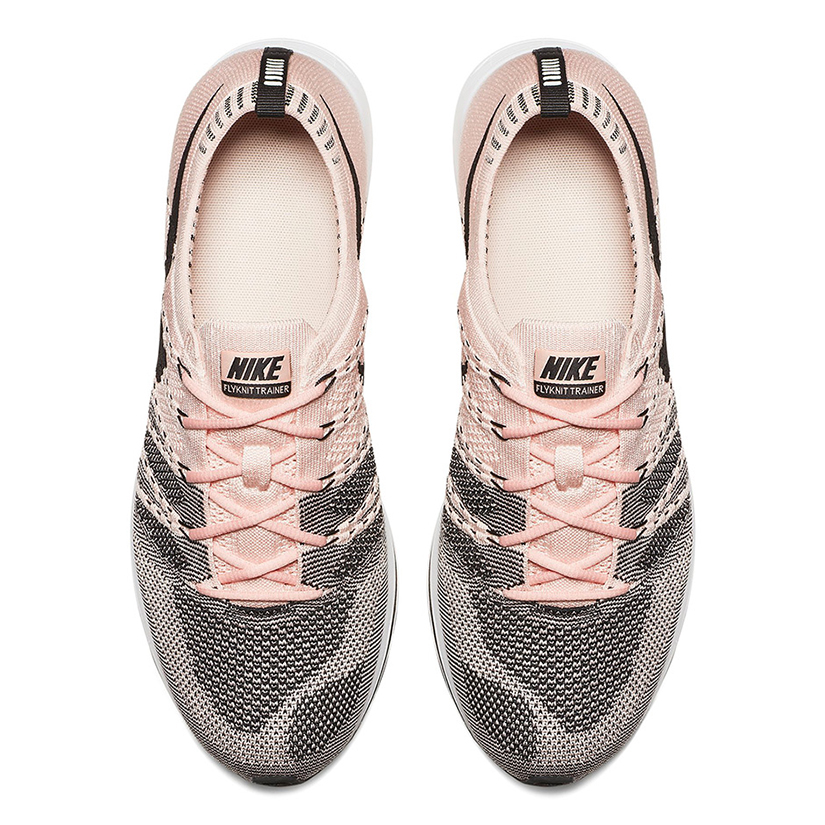 "7c1f5a047cb15 Nike Flyknit Trainer ""Sunset Tint"" AH8396-600. Sunset Tint Black-White"