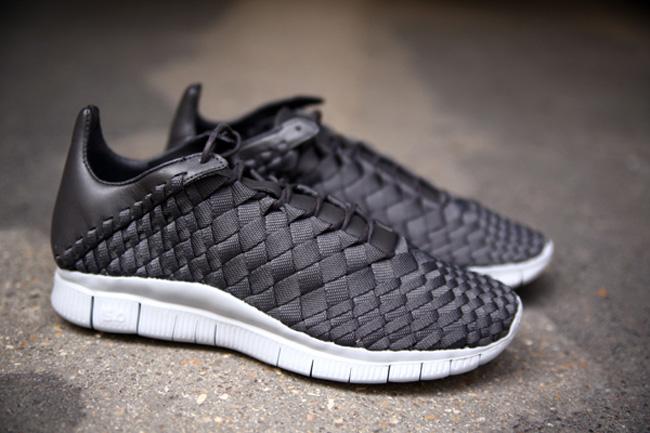 nike free inneva woven black cool grey