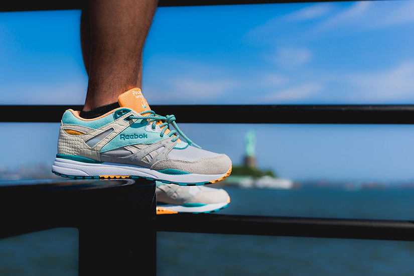 New Jersey s Packer Shoes team up with Reebok Classic to celebrate the 25th  anniversary of the Ventilator CN trainer. dd50cea1d