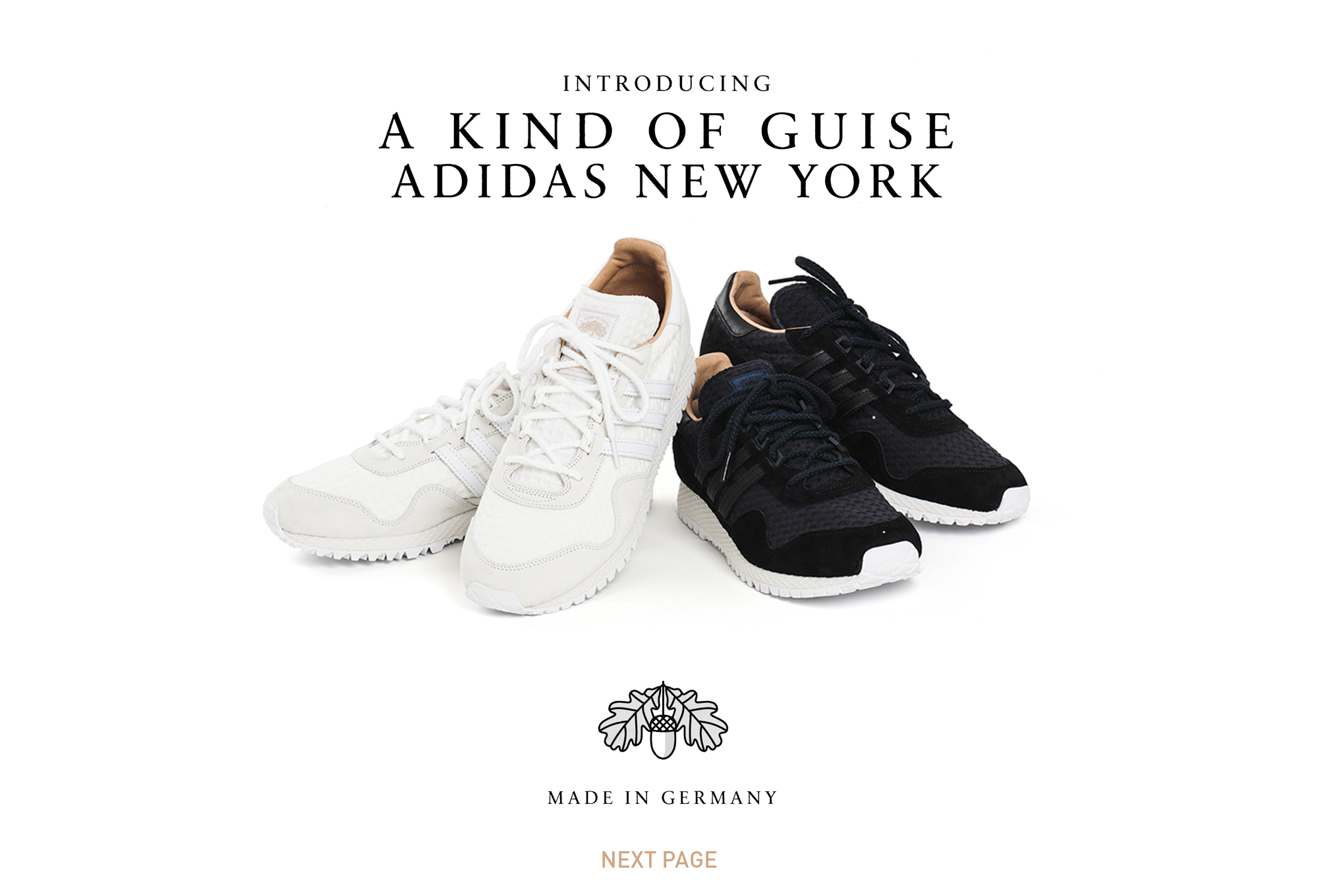 89331486578 ADIDAS CONSORTIUM X A KIND OF GUISE FALL 2015 COLLECTION ´´ MADE IN GERMANY  `` LAUNCH 31ST OCTOBER